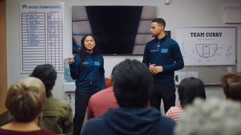 Kaiser Permanente TV Spot, 'Bad Habit' Feat. Ayesha Curry and Stephen Curry