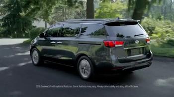 2016 Kia Sedona TV Spot, 'Family Car' - Thumbnail 1