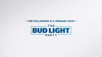 Bud Light TV Spot, 'Debates' Featuring Seth Rogen, Amy Schumer - Thumbnail 1