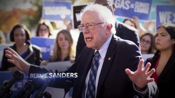 Bernie 2016 TV Spot, 'Far Reaching Climate Plan' - Thumbnail 2