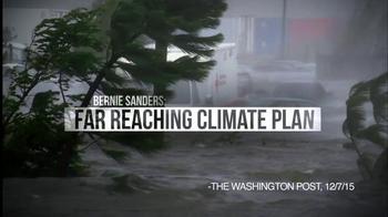 Bernie 2016 TV Spot, 'Far Reaching Climate Plan' - Thumbnail 4