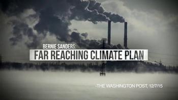 Bernie 2016 TV Spot, 'Far Reaching Climate Plan' - Thumbnail 5