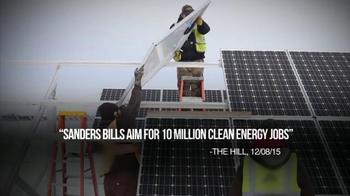 Bernie 2016 TV Spot, 'Far Reaching Climate Plan' - Thumbnail 7