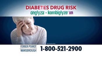 Ferrer, Poirot and Wansbrough TV Spot, 'Diabetes Drug Risk' - Thumbnail 2