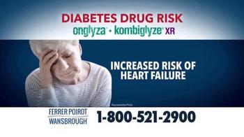 Ferrer, Poirot and Wansbrough TV Spot, 'Diabetes Drug Risk' - Thumbnail 3