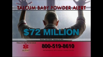 Fleming, Nolen, Jez TV Spot, 'Talcum Powder Alert' - Thumbnail 3