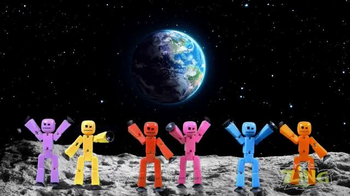 StikBot TV Spot, 'On the Moon'