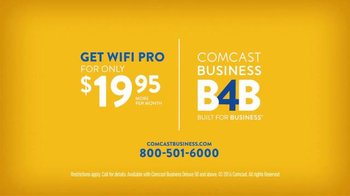 Comcast Business WiFi Pro TV Spot, 'Give Your Business an Edge' - Thumbnail 6