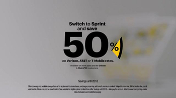 Sprint TV Spot, 'Switch to Sprint: We'll Pay Your Switching Fees' - Thumbnail 4