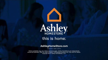 Ashley Furniture Homestore Save & Style Event TV Spot, 'Rustic Bed' - Thumbnail 9