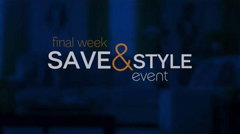 Ashley Furniture Homestore Save & Style Event TV Spot, 'Rustic Bed' - Thumbnail 1