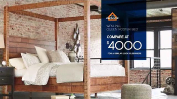 Ashley Furniture Homestore Save & Style Event TV Spot, 'Rustic Bed' - Thumbnail 3