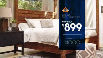 Ashley Furniture Homestore Save & Style Event TV Spot, 'Rustic Bed' - Thumbnail 4