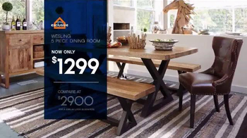 Ashley Furniture Homestore Save & Style Event TV Spot, 'Rustic Bed' - Thumbnail 6