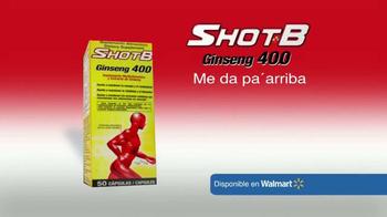 Shot B Ginseng 400 TV Spot, 'Rendimiento físico y mental' [Spanish] - Thumbnail 9