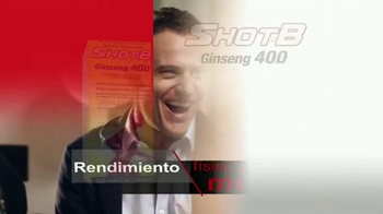 Shot B Ginseng 400 TV Spot, 'Rendimiento físico y mental' [Spanish] - Thumbnail 8