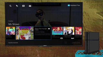PlayStation Vue TV Spot, 'Adult Swim: Squidbillies' - Thumbnail 3