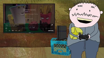 PlayStation Vue TV Spot, 'Adult Swim: Squidbillies' - Thumbnail 4