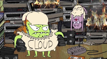 PlayStation Vue TV Spot, 'Adult Swim: Squidbillies'