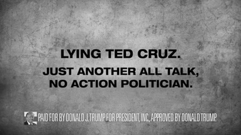 Donald J. Trump for President TV Spot, 'Lying Ted Cruz' - Thumbnail 10