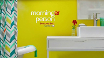 Seattle's Best Coffee TV Spot, 'Morning Person' - Thumbnail 6