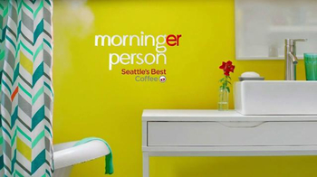 Seattle's Best Coffee TV Spot, 'Morning Person' - Thumbnail 7