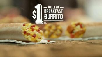 Taco Bell Grilled Breakfast Burrito TV Spot, 'This or That: Burrito' - 1963 commercial airings