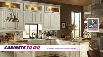 Cabinets To Go TV Spot, 'Make Your Dream Kitchen a Reality' - Thumbnail 1