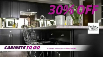Cabinets To Go TV Spot, 'Make Your Dream Kitchen a Reality' - Thumbnail 3