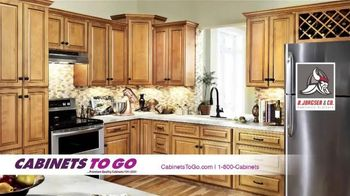 Cabinets To Go TV Spot, 'Make Your Dream Kitchen a Reality' - 31 commercial airings