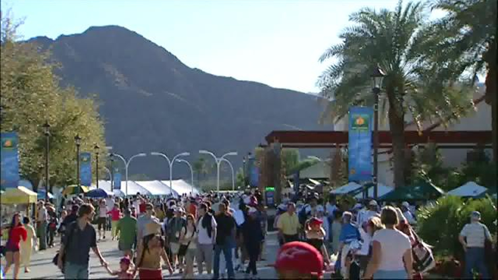 Indian Wells TV Commercial, 'Tennis Channel: Oasis'