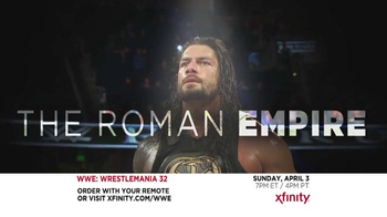 XFINITY TV Spot, 'WrestleMania 32' - Thumbnail 1