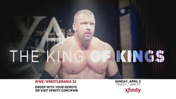 XFINITY TV Spot, 'WrestleMania 32' - Thumbnail 2