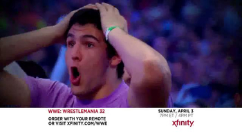XFINITY TV Spot, 'WrestleMania 32' - Thumbnail 3
