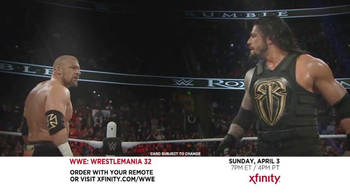 XFINITY TV Spot, 'WrestleMania 32' - Thumbnail 4