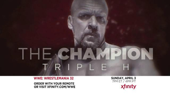 XFINITY TV Spot, 'WrestleMania 32' - Thumbnail 6
