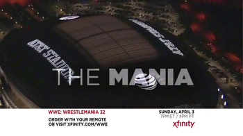 XFINITY TV Spot, 'WrestleMania 32' - Thumbnail 7