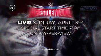 XFINITY TV Spot, 'WrestleMania 32' - Thumbnail 8