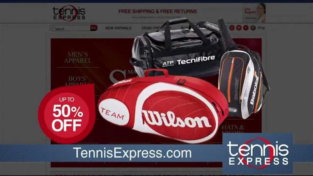 Tennis Express March Madness Sale Tv Commercial The Savings Starts