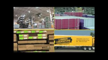 Lumber Liquidators End of Quarter Clearance Sale TV Spot, 'All Varieties'