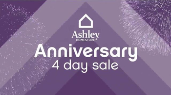 Ashley Homestore Anniversary 4-Day Sale TV Spot, 'Hundreds of Items' - Thumbnail 2