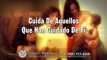 Golden Memorial TV Spot, 'Lincoln Heritage: el plan de funeral' [Spanish] - Thumbnail 10