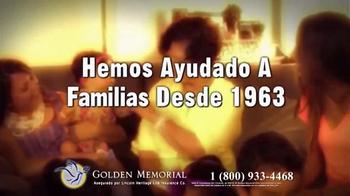 Golden Memorial TV Spot, 'Lincoln Heritage: el plan de funeral' [Spanish] - Thumbnail 4