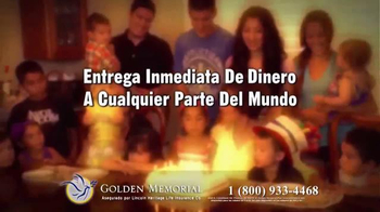 Golden Memorial TV Spot, 'Lincoln Heritage: el plan de funeral' [Spanish] - Thumbnail 7