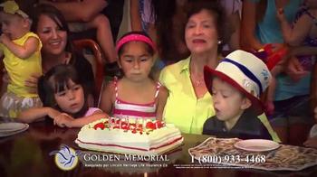 Golden Memorial TV Spot, 'Lincoln Heritage: el plan de funeral' [Spanish] - Thumbnail 9