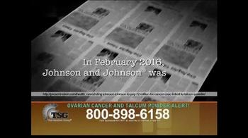 The Sentinel Group TV Spot, 'Talcum Powder Alert' - Thumbnail 2
