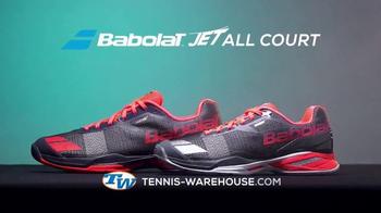 Tennis Warehouse TV Spot, 'Babolat Jet All Court Shoe' - Thumbnail 9