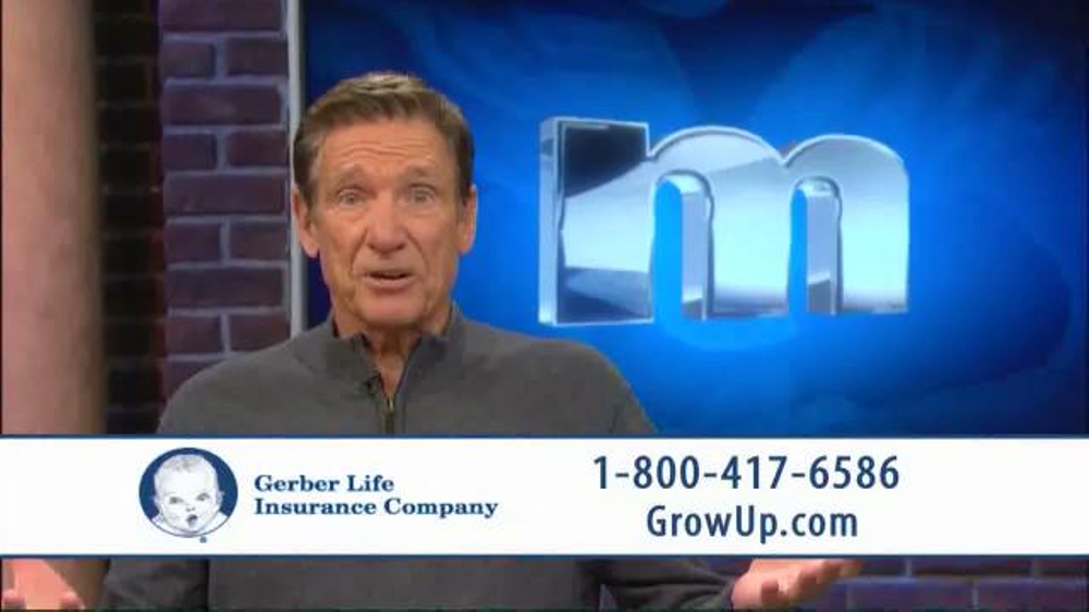 Gerber Life Insurance Grow-Up Plan TV Commercial, 'Head Start' Ft. Maury Povich