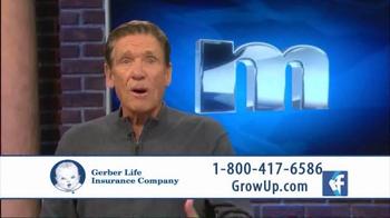 Gerber Life Insurance Grow-Up Plan TV Spot, 'Head Start' Ft. Maury Povich - Thumbnail 3