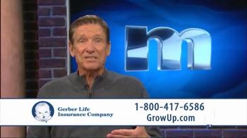 Gerber Life Insurance Grow-Up Plan TV Spot, 'Head Start' Ft. Maury Povich - Thumbnail 4